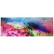 Suede & Natural Rubber Travel Yoga Mat- Surreal