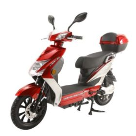 X-Treme Cabo Cruiser Elite Max 60 Volt- Electric Bicycle Scooter Red