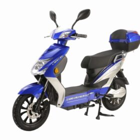 X-Treme Cabo Cruiser Elite 48 Volt- Electric Bicycle Scooter Blue